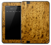 Fancy Aged Wood Skin for the Amazon Kindle