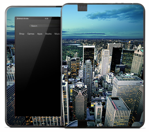 Day Skyline Skin for the Amazon Kindle