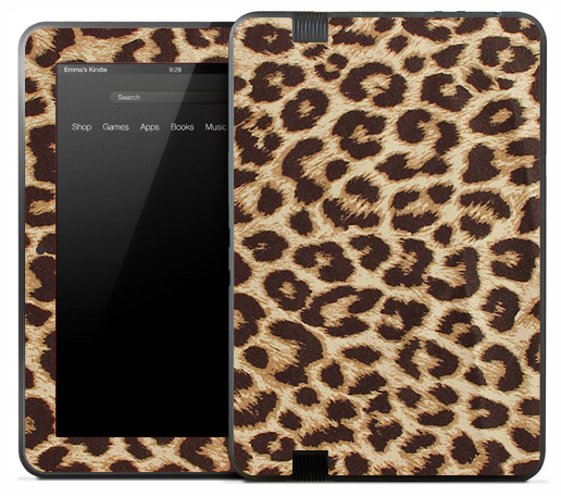 Real Cheetah Skin for the Amazon Kindle