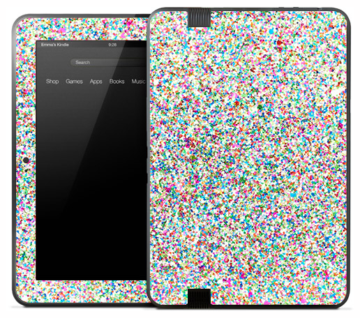 Small Sprinkles Skin for the Amazon Kindle