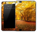 Fall Country Road Skin for the Amazon Kindle