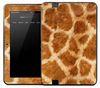 Real Giraffe Skin for the Amazon Kindle