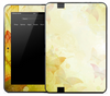 Shadowed Yellow Butterfly Skin for the Amazon Kindle