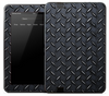 Dark Diamond Plate Skin for the Amazon Kindle