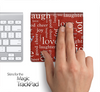 Love Wallpaper Words Skin for the Apple Magic Trackpad