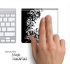 Black And White Abstract Swirls Skin for the Apple Magic Trackpad