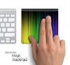 Neon Curtains Skin for the Apple Magic Trackpad