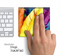 HD Color Feathers Skin for the Apple Magic Trackpad