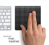 Black Plaid Skin for the Apple Magic Trackpad