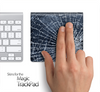 Shattered Glass Skin for the Apple Magic Trackpad