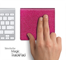 Pink Fabric Skin for the Apple Magic Trackpad