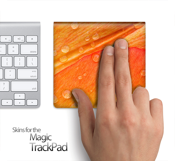 Watered Wing Skin for the Apple Magic Trackpad