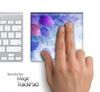 Magical Purple Floral Skin for the Apple Magic Trackpad