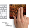 Tattooed Wood Skin for the Apple Magic Trackpad