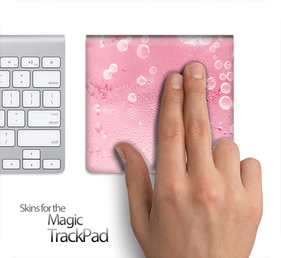 Bubbly Pink Skin for the Apple Magic Trackpad