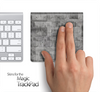 Grey Tiled Skin for the Apple Magic Trackpad