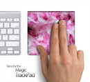 Pink Fuzzy Feathers Skin for the Apple Magic Trackpad