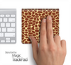 Giraffe Print Skin for the Apple Magic Trackpad