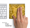 Gold Pattern 221 Skin for the Apple Magic Trackpad