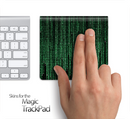 The Binary Code Wall Skin for the Apple Magic Trackpad