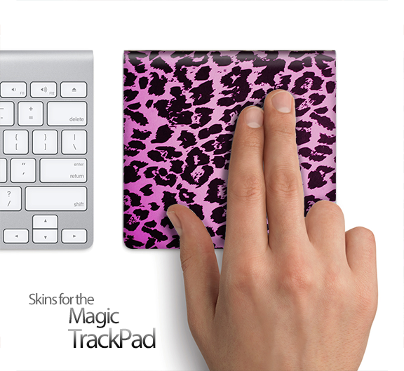 Neon Cheetah Animal Print Skin for the Apple Magic Trackpad