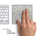 Colorful Dotted Skin for the Apple Magic Trackpad