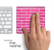 Pink Brick Wall Skin for the Apple Magic Trackpad