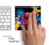 Neon Abstract Floral Skin for the Apple Magic Trackpad