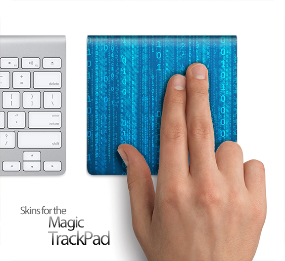 Coded Skin for the Apple Magic Trackpad