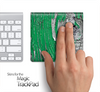 Green Peeled Wood Skin for the Apple Magic Trackpad