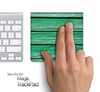 Green Wood Slabs Skin for the Apple Magic Trackpad
