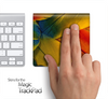 Colorful Feathers Skin for the Apple Magic Trackpad