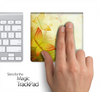 Abstract Yellow Butterflies Skin for the Apple Magic Trackpad
