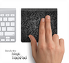 Black Lace Pattern Skin for the Apple Magic Trackpad
