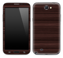 Dark Wood Skin for the Samsung Galaxy Note 1 or 2