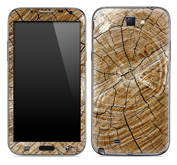 Cracked Wood Skin for the Samsung Galaxy Note 1 or 2