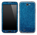 Blue Glitter Ultra Metallic Skin for the Samsung Galaxy Note 1 or 2