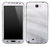 White Sheets Skin for the Samsung Galaxy Note 1 or 2