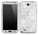 White Lace Skin for the Samsung Galaxy Note 1 or 2