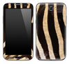 Real Zebra Print Animal Print Skin for the Samsung Galaxy Note 1 or 2