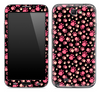 Tiny Pink Paw Prints Skin for the Samsung Galaxy Note 1 or 2