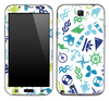 Anchors n' Such Skin for the Samsung Galaxy Note 1 or 2
