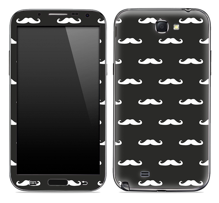 Mustache Galore Skin for the Samsung Galaxy Note 1 or 2
