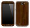 Walnut Wood Skin for the Samsung Galaxy Note 1 or 2