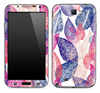 Seamless Colorful Leaves Skin for the Samsung Galaxy Note 1 or 2