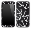 Black Anchor Bundle Skin for the Samsung Galaxy Note 1 or 2