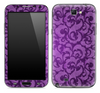 Purple Lace Skin for the Samsung Galaxy Note 1 or 2