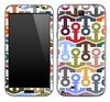 Colorful Anchor Bundle Skin for the Samsung Galaxy Note 1 or 2