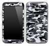 Traditional Snow Camouflage Skin for the Samsung Galaxy Note 1 or 2