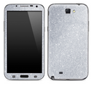 Silver Glitter Ultra Metallic Skin for the Samsung Galaxy Note 1 or 2